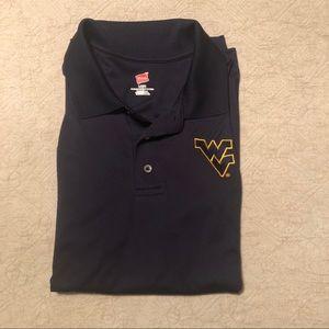 Men's West Virginia mountaineers golf shirt